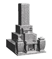 墓石付完成墓地